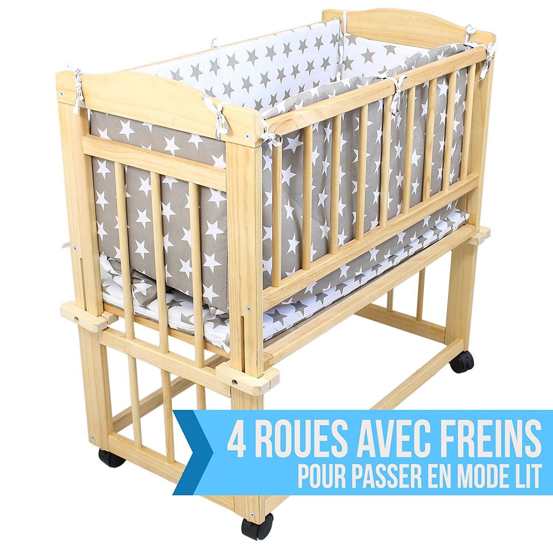 berceau Monsieur bébé 4 roulettes
